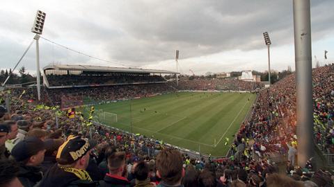 85 Jahre deutsche Fußballgeschichte: Am Bökelberg bestritt Mönchengladbach bis 2004 seine Heimspiele.