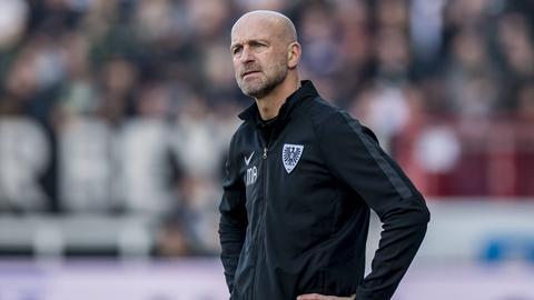 Marco Antwerpen, Trainer von Preußen Münster.