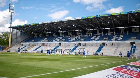 Das Stadion von Darmstadt 98