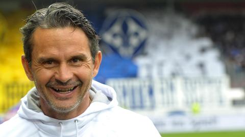 Darmstadts Trainer Dirk Schuster