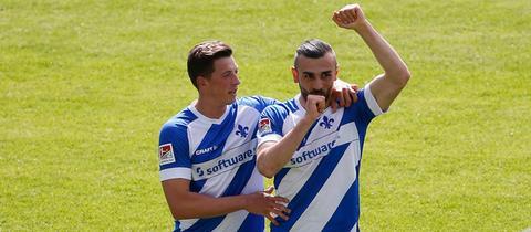 Nicolai Rapp (li.) und Serdar Dursun (re.) verlassen Darmstadt 98.