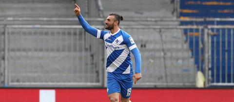 Serdar Dursun lässt seine Zukunft bei Darmstadt 98 offen.