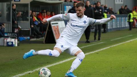 Marcel Heller spielt seit 2013 für den SV Darmstadt 98.