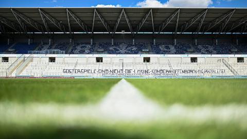 Der Rasen von Darmstadt 98.