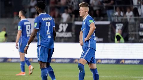 Lilien Spieler des SV Darmstadt 98