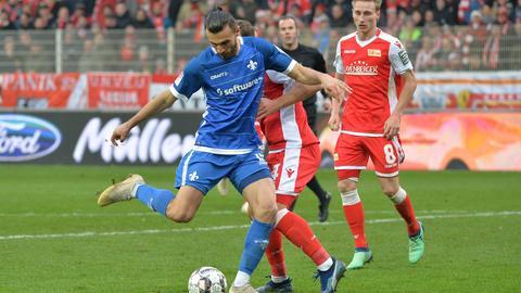 Serdar Dursun im Spiel bei Union Berlin