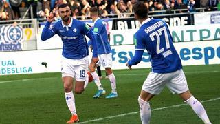 Serdar Dursun jubelt gegen den HSV