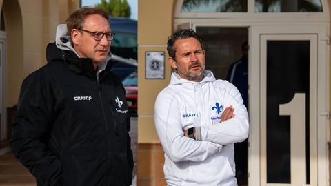 Rüdiger Fritsch und Dirk Schuster.