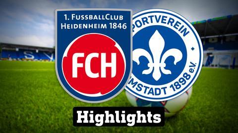 Heidenheim - Darmstadt - die Highlights