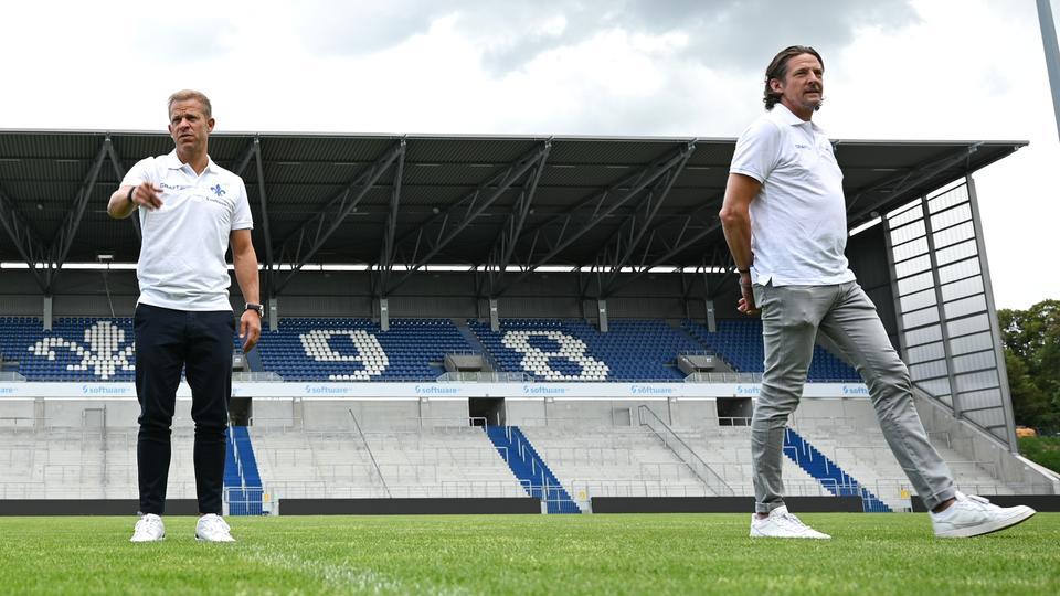 Carsten Wehlmann und Markus Anfang von Darmstadt 98