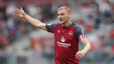 Hanno Behrens vom 1. FC Nürnberg