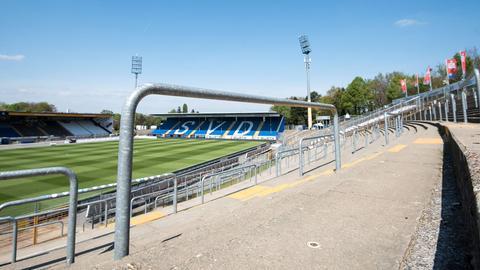 Das Böllenfalltor-Stadion in Darmstadt