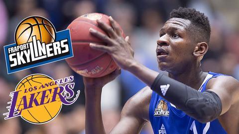 Isaac Bonga vor Sprung zu den Lakers