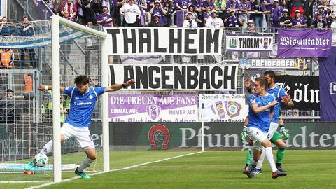 Erzgebirge Aue gegen Darmstadt 98 DFB-Sportgericht weist Einspruch zurück