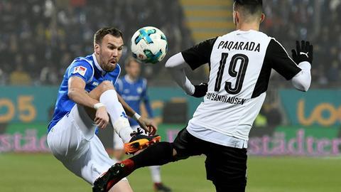 Darmstadts Kevin Großkreutz im Spiel gegen Sandhausen