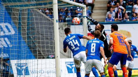Darmstadt 98 bei Hansa Rostock