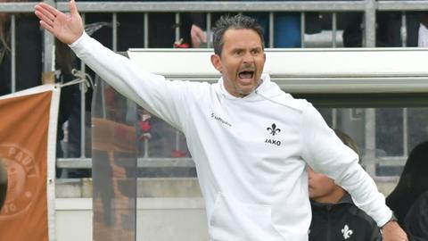 Lilien-Trainer Dirk Schuster