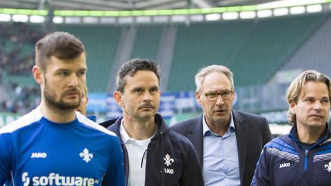 Marcel Heller, Dirk Schuster und Rüdiger Fritsch