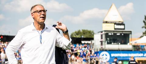 Lilien-Präsident Rüdiger Fritsch