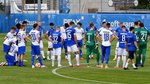Training bei Darmstadt 98
