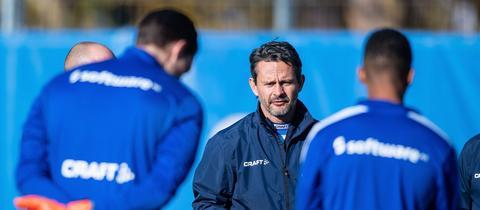 Dirk Schuster im Training.