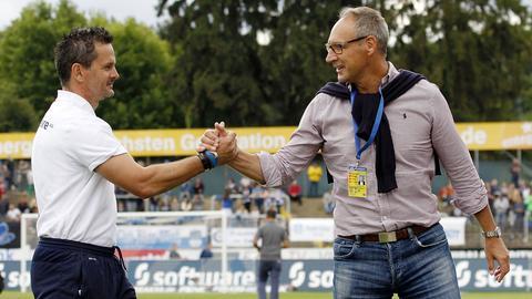 Dirk Schuster und Rüdiger Fritsch
