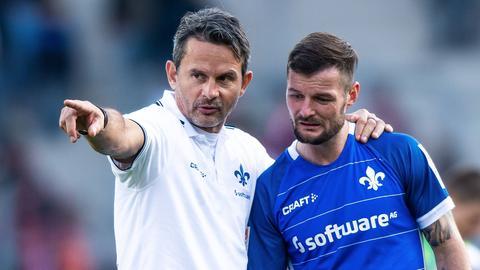 Dirk Schuster und Marcel Heller