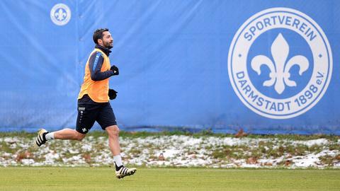 Aytac Sulu beim Training