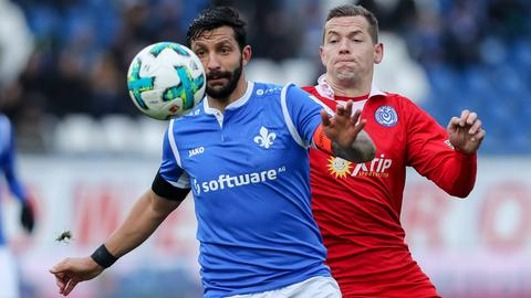Aytac Sulu im Spiel gegen den MSV Duisburg