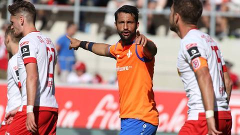 Aytac Sulu im Spiel der Lilien gegen Regensburg