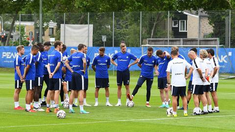 Trainingsauftakt Lilien