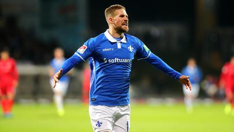 Tobias Kempe im Spiel gegen Stuttgart