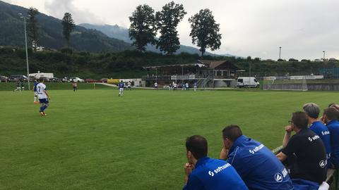 Lilien Trainingslager Stricker Testspiel