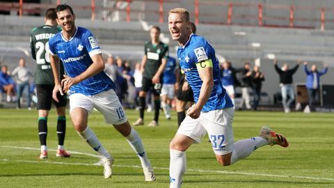 SV Darmstadt 98 Bremen Jubel Holland