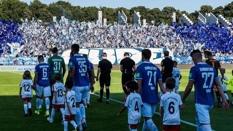 Darmstadt 98 gegen Dynamo Dresden