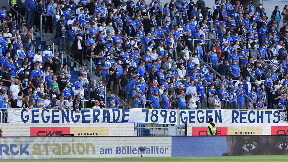 Fans SV Darmstadt 98 Böllenfalltor