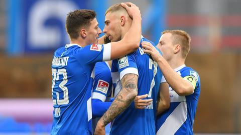 Fabian Holland SV Darmstadt 98 Jubel