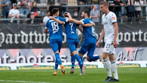 SV Darmstadt 98 Tojubel Sandhausen