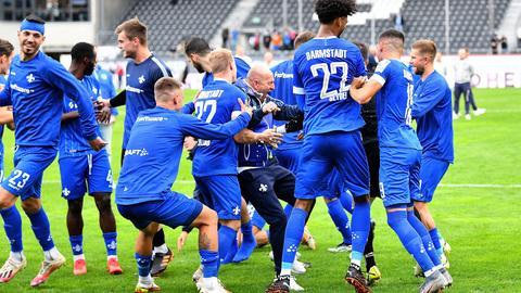 SV Darmstadt 98 Jubel Sandhausen