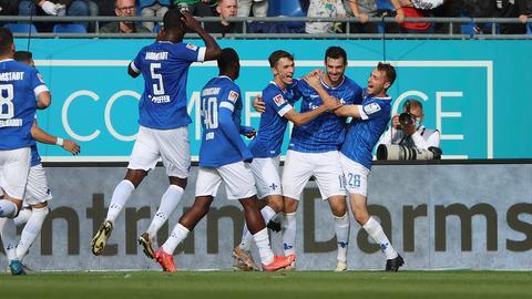 SV Darmstadt 98 Jubel Bremen