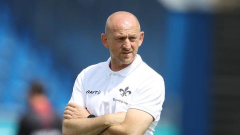 Lilien-Trainer Torsten Lieberknecht hofft auf die Rückkehr einiger seiner Stars.