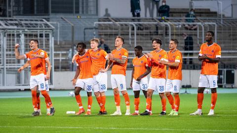 Enttäuschung und Stolz beim SV Darmstadt 98 in München