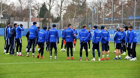 Training bei Darmstadt 98