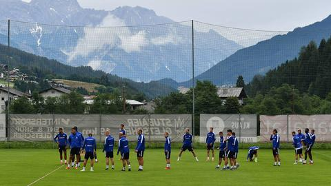 Darmstadt 98 im Trainingslager
