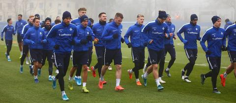 Trainingsstart beim SV Darmstadt 98