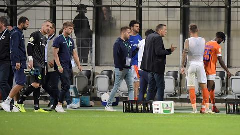 Enttäuschung beim SV Darmstadt 98.