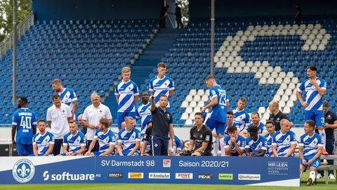 Mannschaft Darmstadt 98
