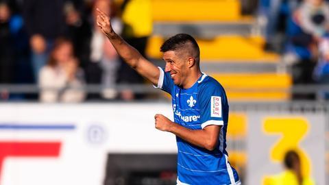 Slobodan Medojevic erzielte einen kuriosen Treffer gegen den 1. FC Magdeburg.