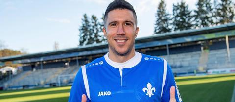 Slobodan Medojevic trägt ab sofort das Lilien-Trikot.