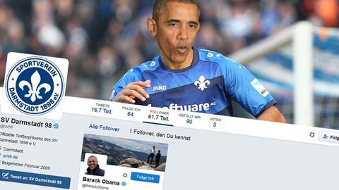 Obama folgt den Lilien